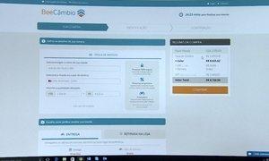 Casa de câmbio online garante boas taxas e comodidade para os clientes