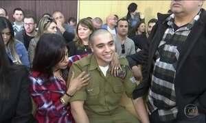 Soldado israelense mata palestino e é condenado a 18 meses de prisão
