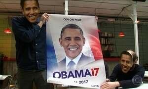 Grupo lança candidatura de Obama para presidente da França