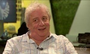 Marco Nanini celebra 50 anos de carreira revendo grandes papéis na TV
