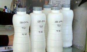 Quadrilha usava soda cáustica para adulterar leite