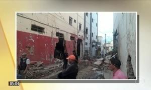 Imagens mostram destruição após explosões em agência bancária na BA