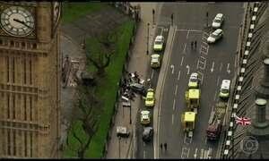Polícia trata como terrorismo ataque perto do Parlamento britânico