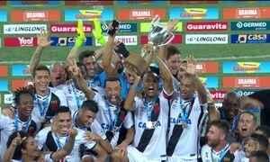 Gols do Fantástico: Vasco vence Botafogo e é campeão da Taça Rio
