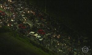 Globo começou de madrugada cobertura das manifestações