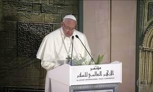 No Egito, Papa e imã afirmam que fé e violência são incompatíveis
