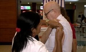 Vacina contra gripe não tem procura em 20 cidades de Alagoas