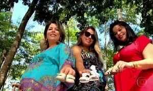 Três grávidas comemoram um Dia das Mães de superação e esperança