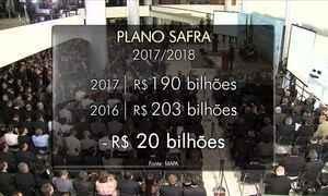 Governo destina R$ 190 bilhões para o Plano Safra 2017/2018