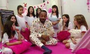 Hoje é dia de dormir: festa do pijama