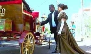 De princesa, mulher surpreende namorado que construiu carruagem
