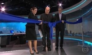 Tecnologia, inovação e a notícia no centro da nova redação da Globo
