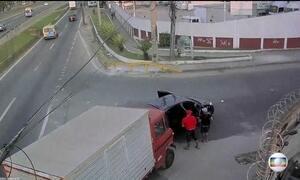 Estado do Rio registra mais de 900 assaltos a caminhoneiros em junho