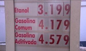Preços dos combustíveis sobem com o aumento de impostos