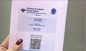 Receita passa a permitir nome social, além do nome de registro no CPF