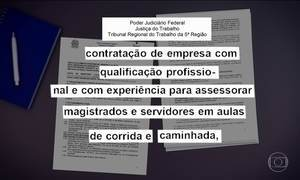 Polêmica na Bahia: TRT quer pagar empresa para dar aulas de corrida