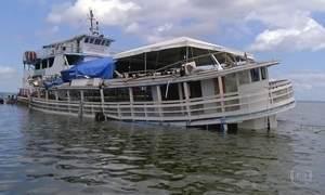 Dono do barco que virou no Xingu, no Pará, admite irregularidade: 'Crise, né?'