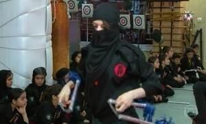 As ninjas do Irã: mulheres tentam conseguir a igualdade através da luta