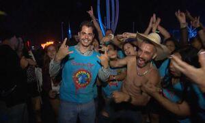 Fantástico leva sertanejo ao Rock in Rio e roqueiro a rodeio em SP