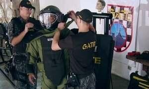 Hoje é dia de viver perigosamente: esquadrão antibomba