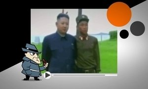 Detetive investiga fotos em que soldado faz chifrinho em Kim Jong-un