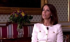 Princesa da Dinamarca é voluntária em projeto contra o desperdício