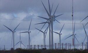 Energia eólica transforma a paisagem da Chapada do Araripe