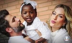 Bruno Gagliasso e Giovanna Ewbank falam sobre racismo contra filha Titi
