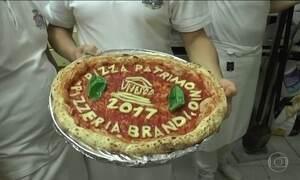 Tradição de 500 anos é Patrimônio da Humanidade: a pizza de Nápoles