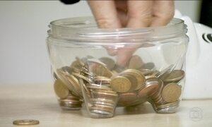 Cofrinhos tiram de circulação R$ 1,5 bilhão em moedas, calcula BC