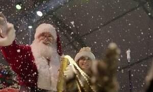 Mari Palma vira noelete por um dia nas festividades de Natal em Gramado