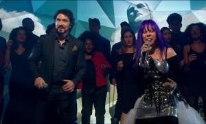 Padre Fábio de Melo e Baby do Brasil cantam 'Jesus Cristo', de Roberto Carlos