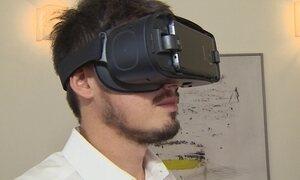 Realidade virtual é usada em imobiliárias, escolas e laboratórios