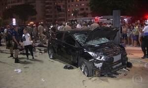 Acidente em Copacabana mata bebê e deixa turista em estado grave