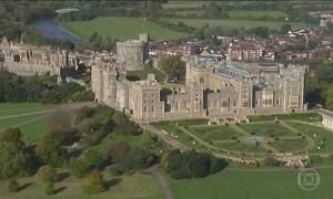 Casamento real no castelo de Windsor tem atraído turistas