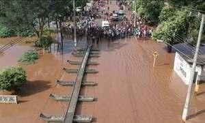 Chuvas deixam 22 cidades do Mato Grosso do Sul em emergência