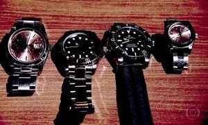Gravações revelam como operava gangue de roubos de relógio de luxo