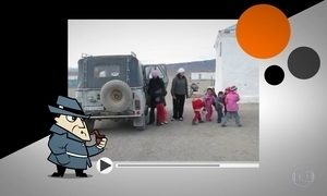 Trinta e cinco crianças saem de jipe em vídeo que deixa web desconfiada