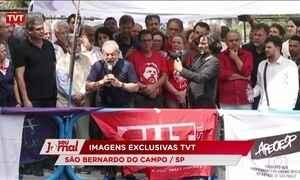 Ex-presidente Lula afirma que se entregou para provar inocência