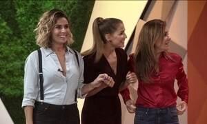 Vilãs e mocinha da nova novela das 9 da Globo encaram quiz de axé baiano