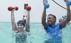 Hoje é dia de piscina: novos exercícios