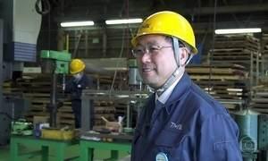 Operário que foi tentar a vida em Tóquio vira dono de fábrica de trens