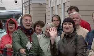 França e Austrália jogam em Kazan, cidade que exercita a tolerância