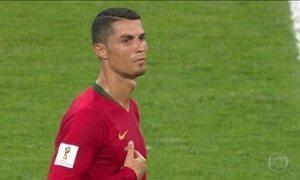 Cristiano Ronaldo perde pênalti e Portugal empata com Irã: 1 x 1