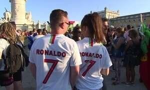 Durante a Copa, Cristiano Ronaldo domina todos os cantos de Lisboa
