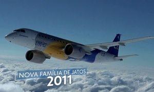 Criada há quase 50 anos, Embraer passou por crises e foi privatizada