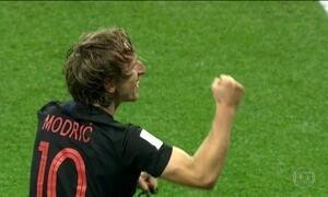 Croácia chega para jogo contra Rússia com status de favorita
