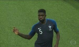 França e Croácia chegam invictas à final da Copa do Mundo