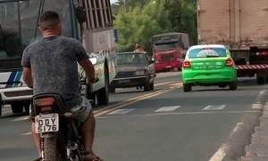 Dispositivo não deixa moto ser ligada se piloto estiver sem o capacete