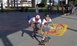 Skate insere jovens e crianças no mundo dos esportes radicais